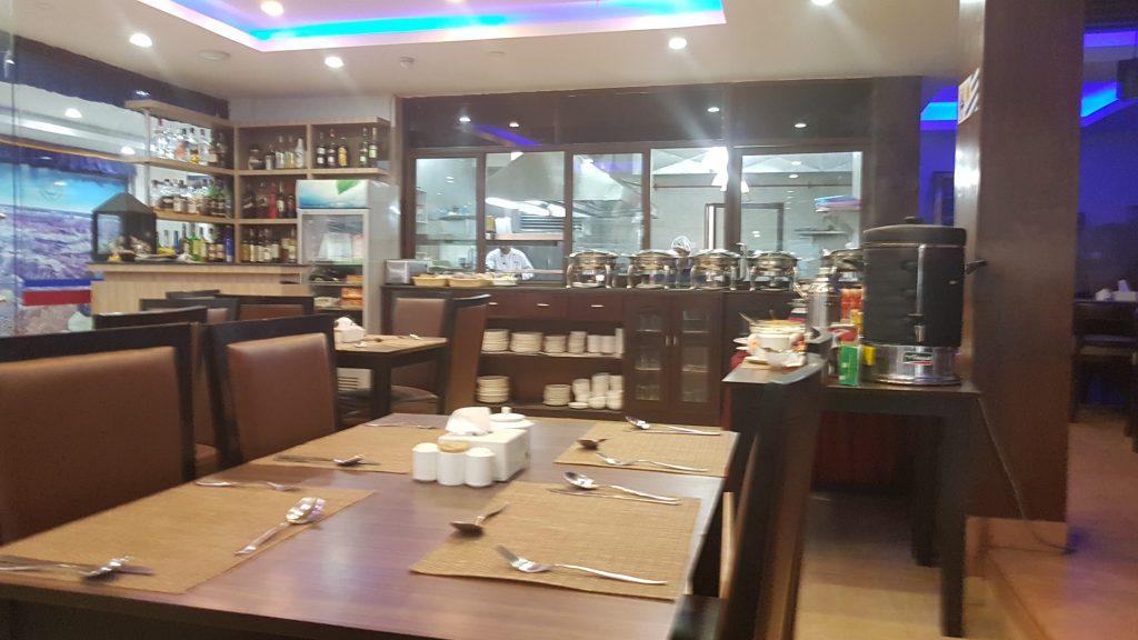 Address Hotel Breakfast buffet