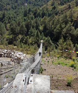 Suspension bridge to Namche